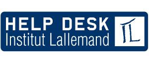 Help Desk de l'Institut Lallemand